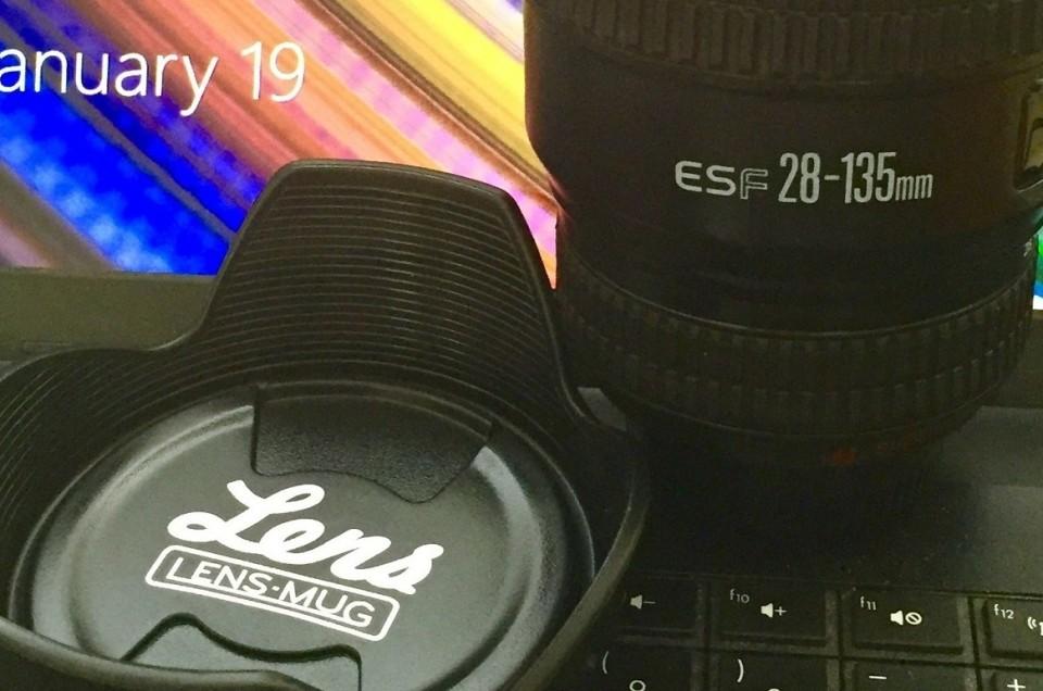 Everyone needs a lens mug