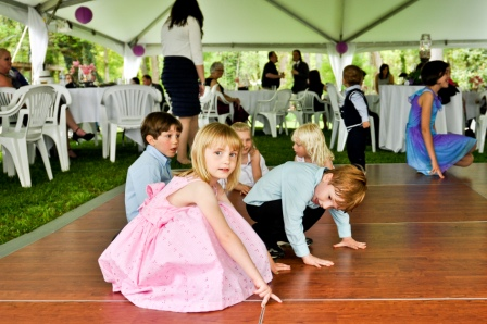 Help! Kids are in my wedding party!