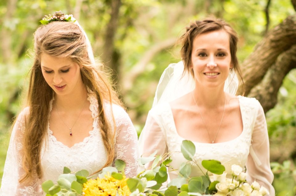 Bohemian brides magical forest