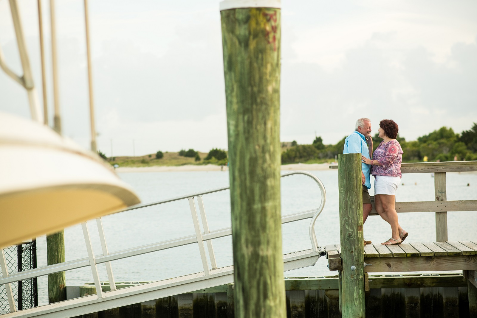 Tracey and Scott wedding surprise Olde Towne Yacht Club Beaufort