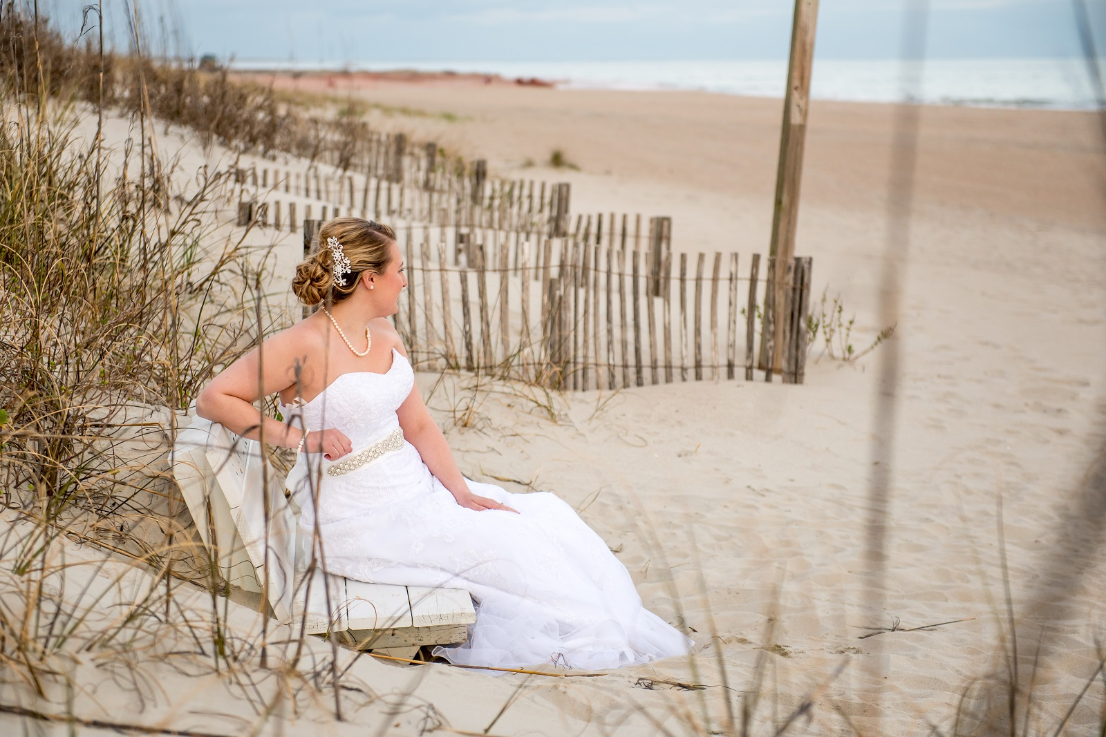 Atlantic Beach Bride Brittany 2018 wedding season is here Beaufort Photography Co.