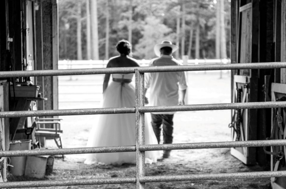Rustic Down East Wedding