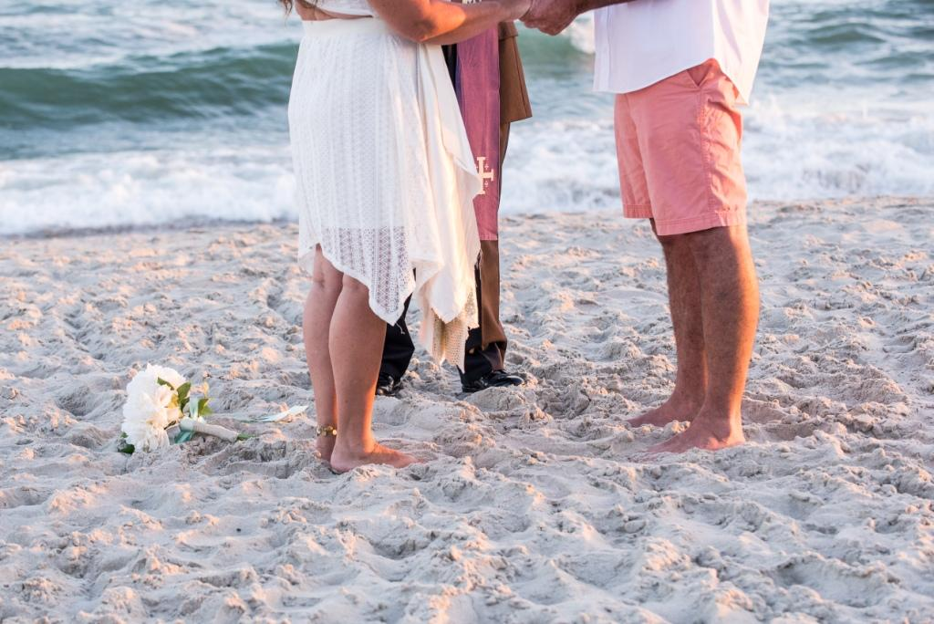 Wedding by the sea Beaufort Photography Co.