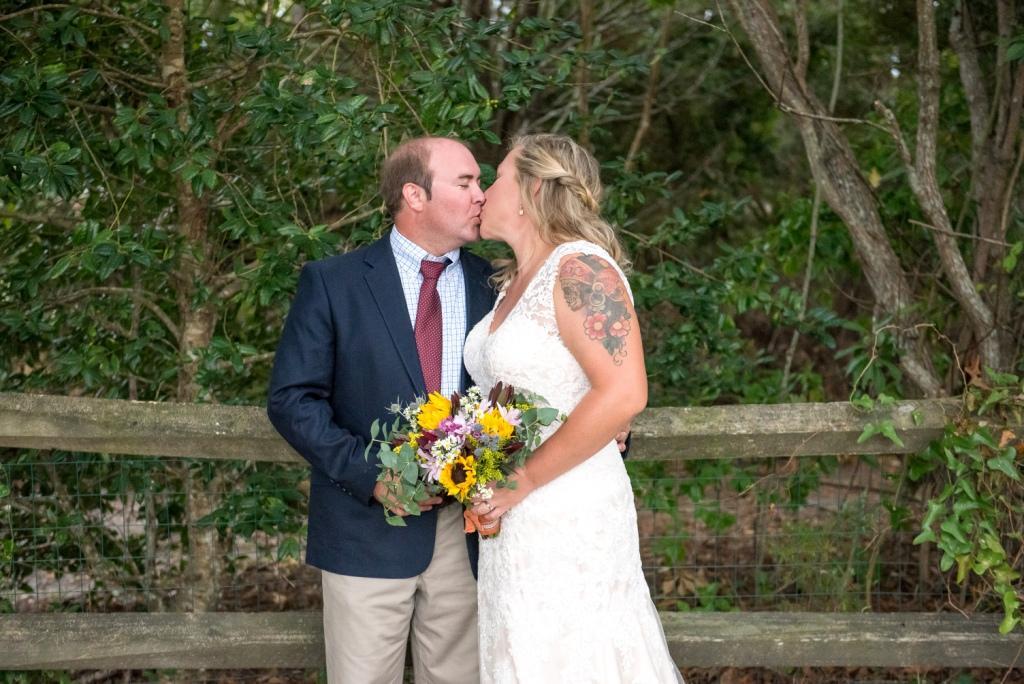 Beaufort Photography Co. Beaufort backyard wedding