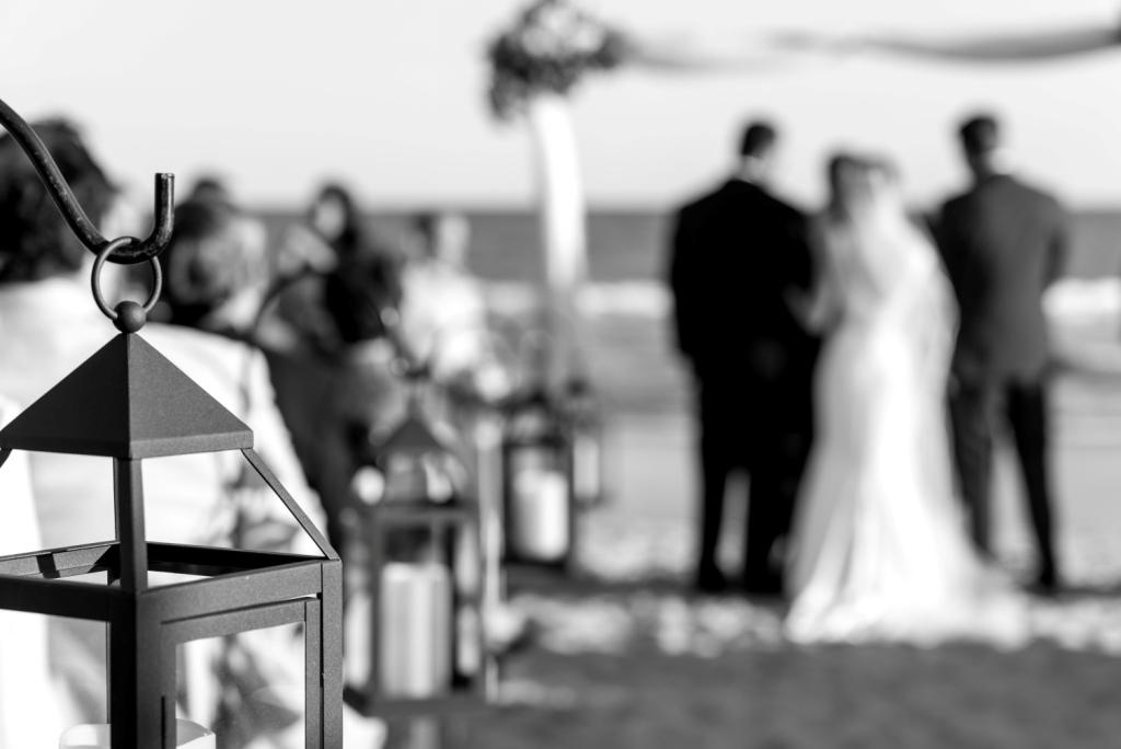 Chateau of the Isle Crystal Coast beach wedding