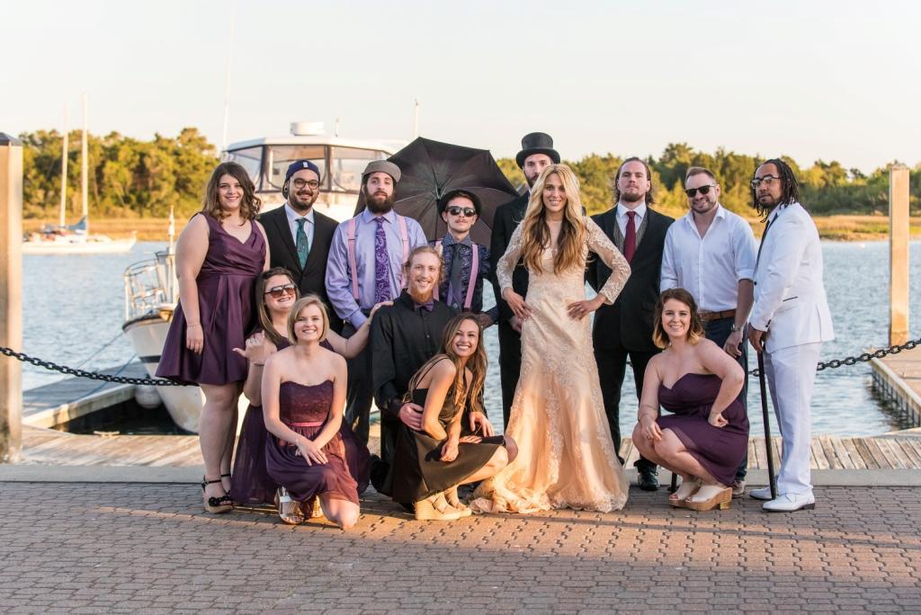 Crystal Coast wedding Morehead City Alice in Wonderland Mad Hatter