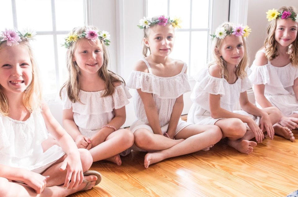 Flower girls, ring bearers, bouquet holders, oh my!