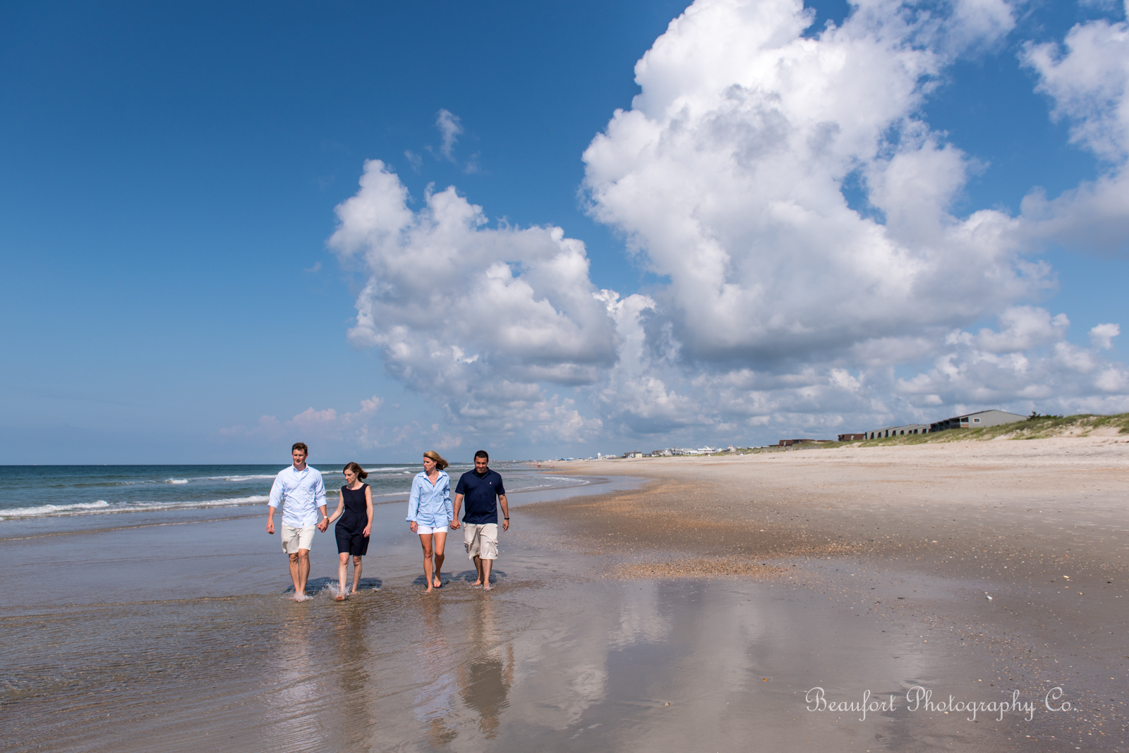 Beaufort Photography Co. family lifestyle portrait beautiful crystal coast morning