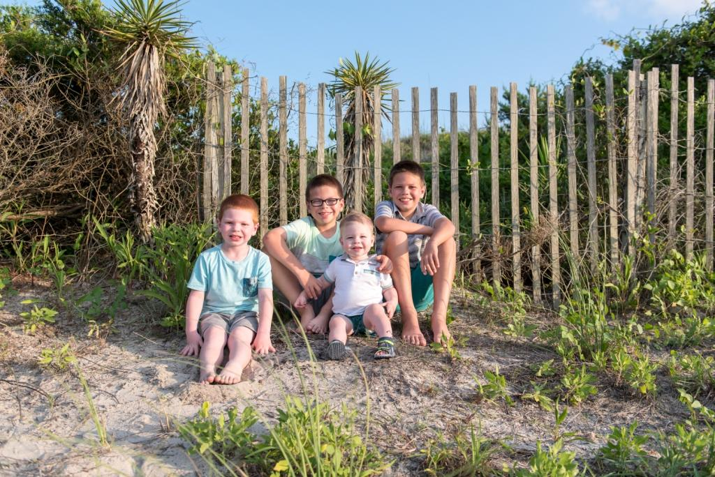 a holiday at the sea Atlantic Beach Fort Macon lifestyle family portrait