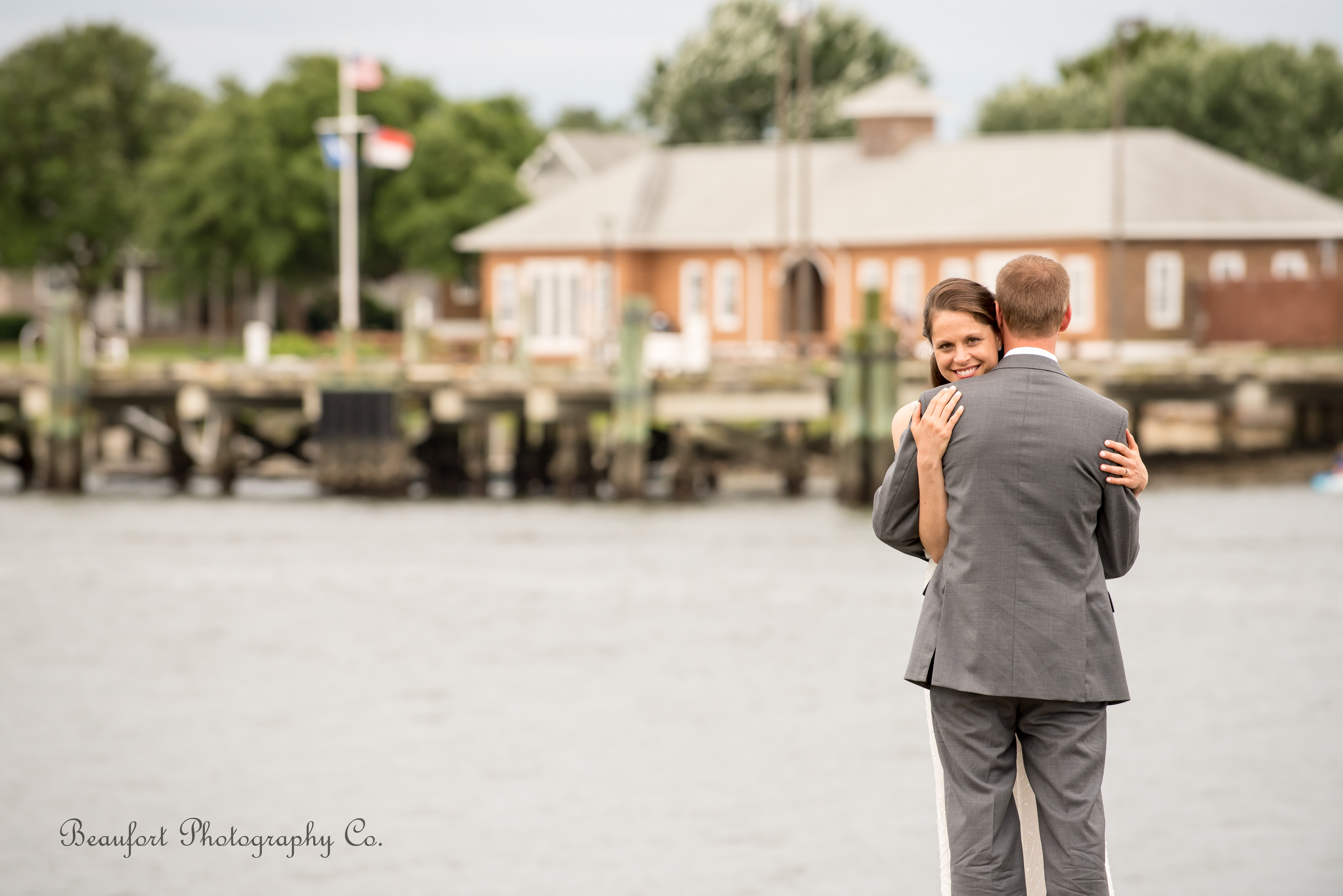 West to East to West Coasts Crystal Coast Beaufort destination wedding